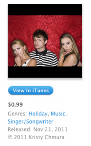 Holiday Sparkle iTunes