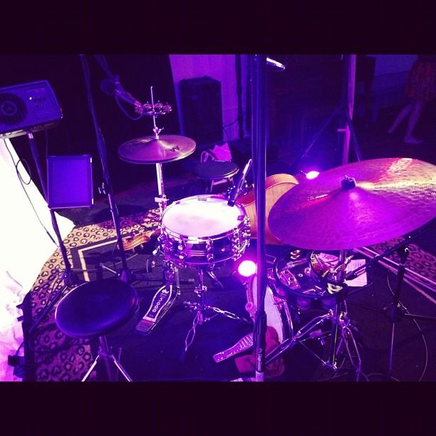 Chalfonte Drum Setup