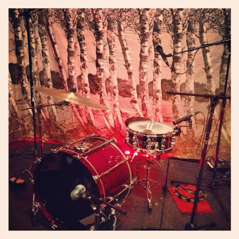 cape may drum setup