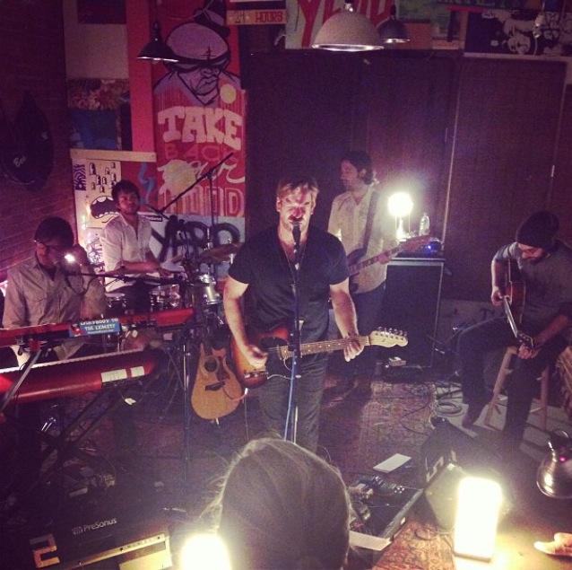 Adam and band