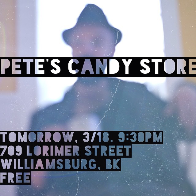Shayfer James Pete's Candy Store