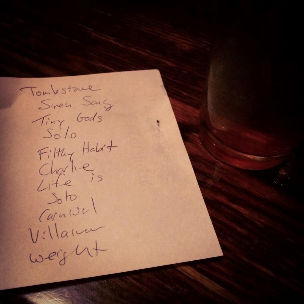 Setlist-031815