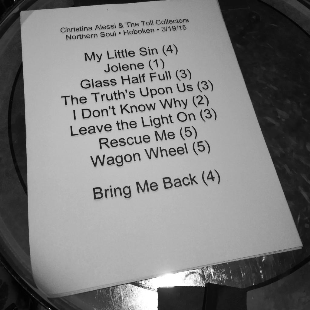 Setlist-031915