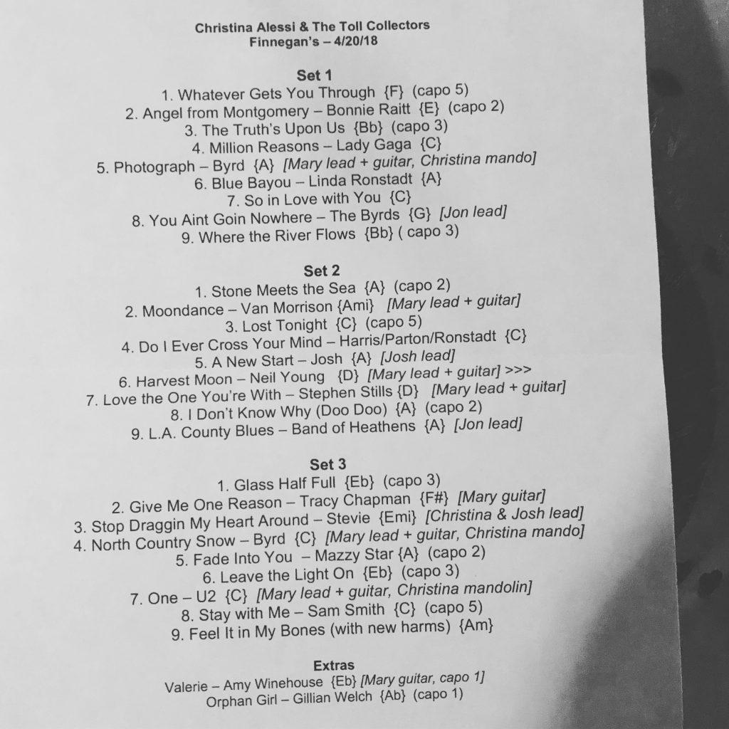 Setlist042018